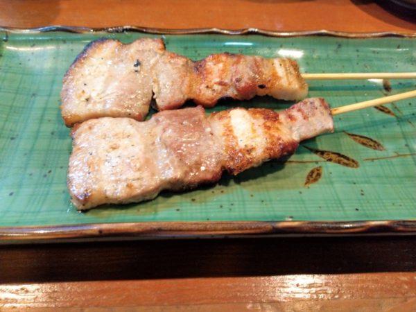 【焼き鳥・居酒屋】えいちゃん 豚串焼き