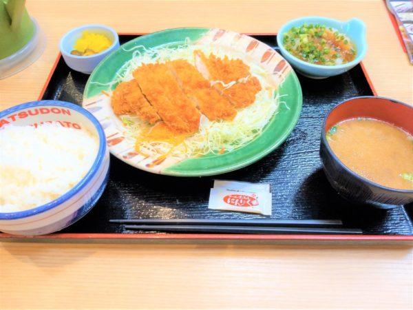 【ランチ・かつ丼・とんかつ】かつさと おろしチキンカツ定食