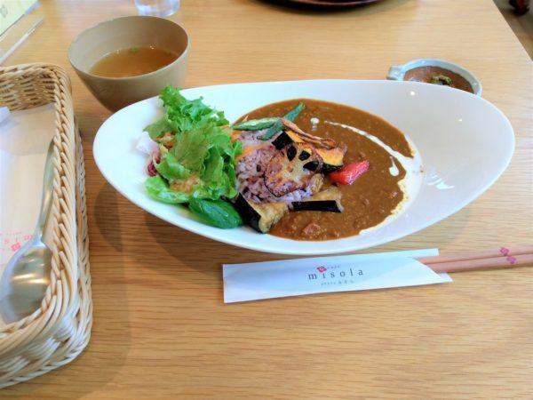 【カフェ・ランチ】misolaカレー