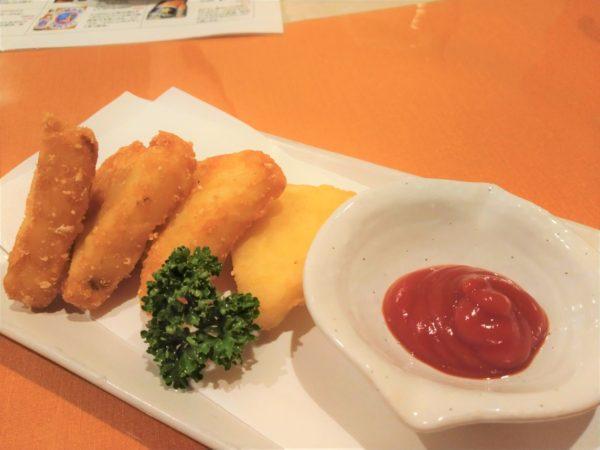 【多国籍居酒屋】シャンガリ チーズポテトフライ