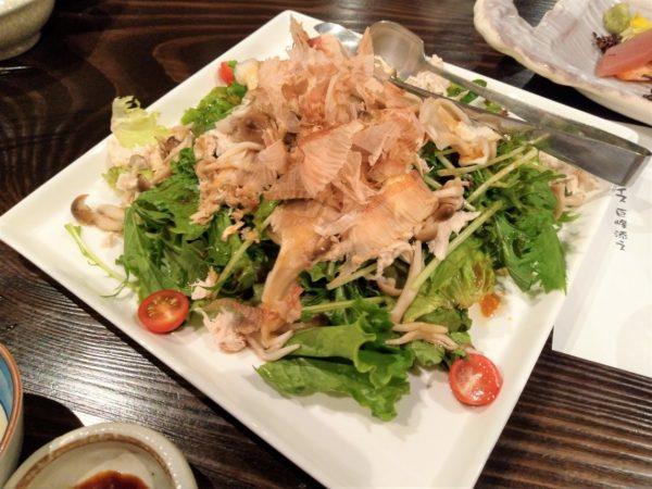 【居酒屋】和びさび サラダ
